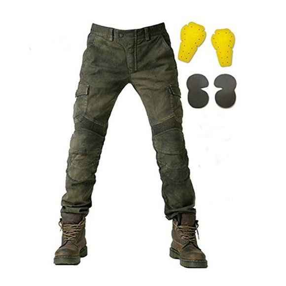 Jeans Motorcycle Ride Jeans Leisure Loose Version with Protect Equipment