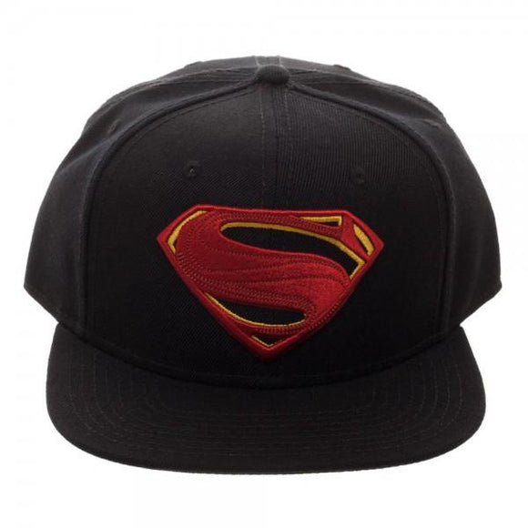 SUPERHERO Core Line Superman Icon Embroidered Snapback