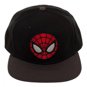 SUPERHERO Ultimate Spiderman Black Snapback