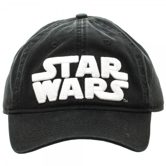 SUPERHERO Star Wars Logo Black Adjustable Cap