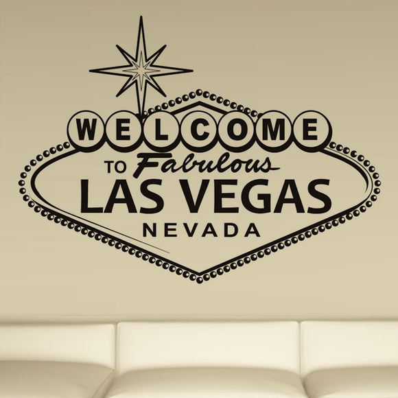 Welcome To Fabulous Las Vegas Wall Sticker