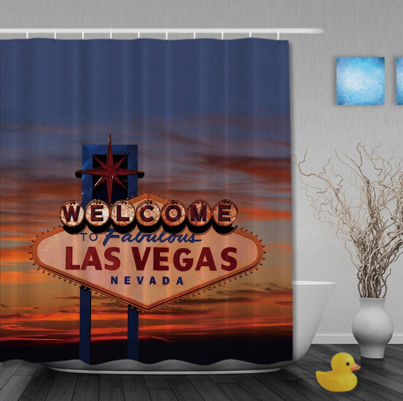 Welcome to Fabulous Las Vegas Nevada Shower Curtains