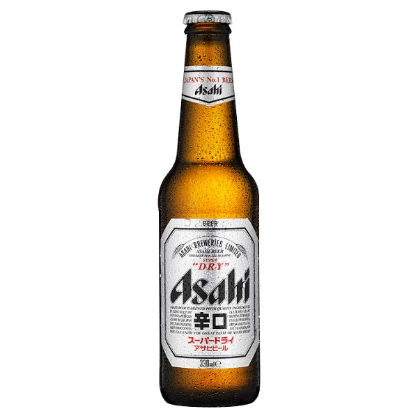 Asahi Super Dry Beer 330ml-Online Groceries EUK Store