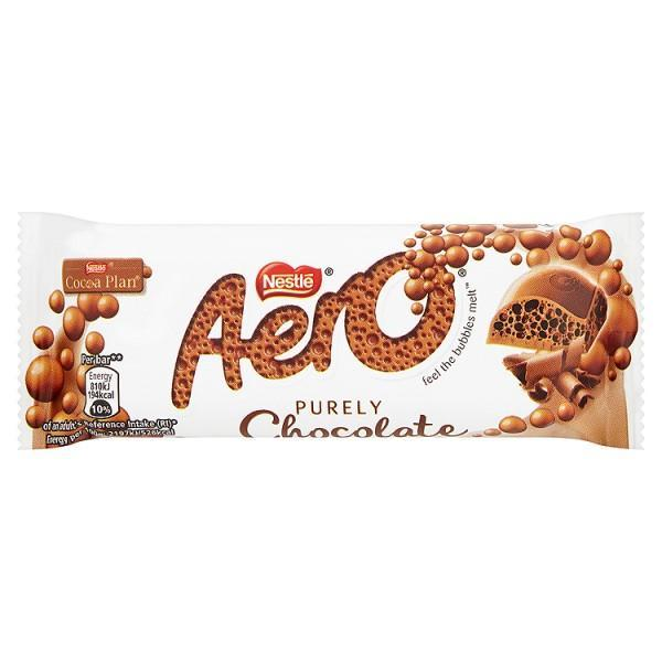 AERO Milk Chocolate Bar 36g