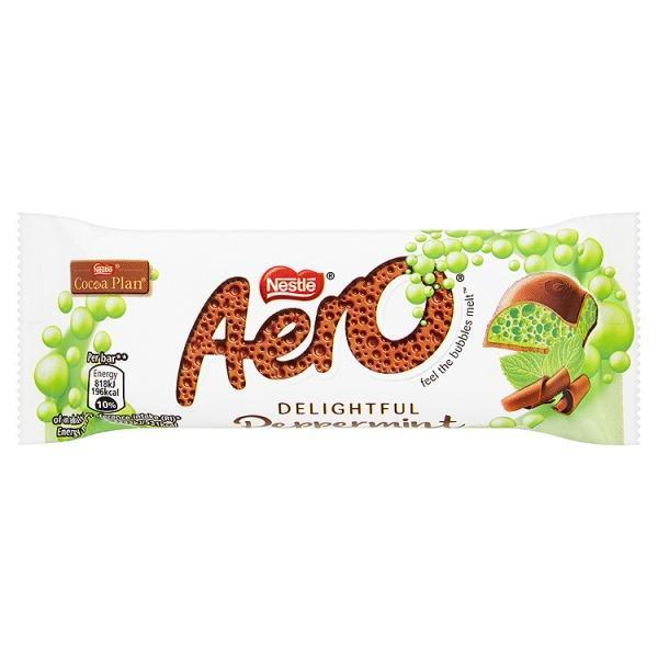 AERO Peppermint Chocolate Bar 36g
