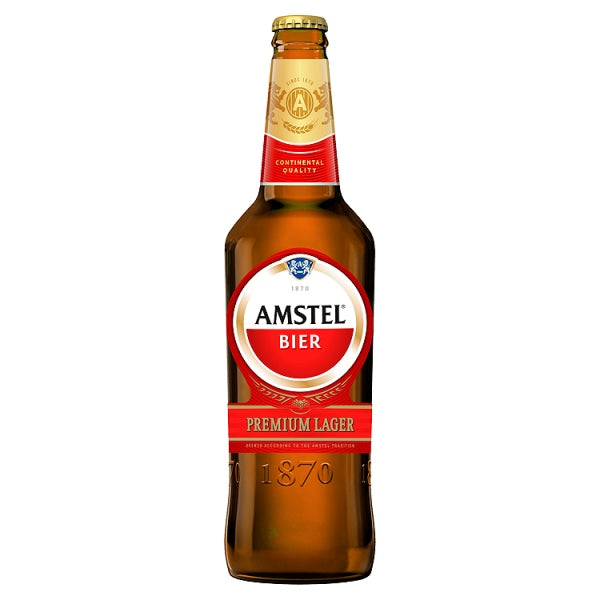 Amstel Bier Premium Lager 650ml OR 2 for £4
