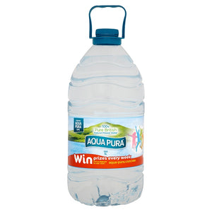 Aqua Pura Still Natural Mineral Water 5 Litre