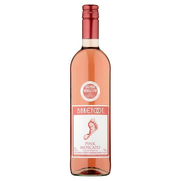 6e591a9d1f Barefoot Pink Moscato 75cl-Online Groceries EUK Store
