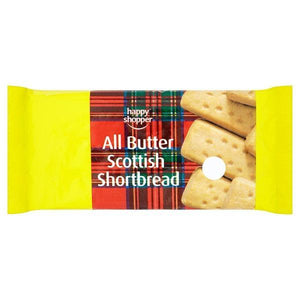 Happy Shopper All Butter Scottish Shortbread 100g-Online Groceries EUK Store
