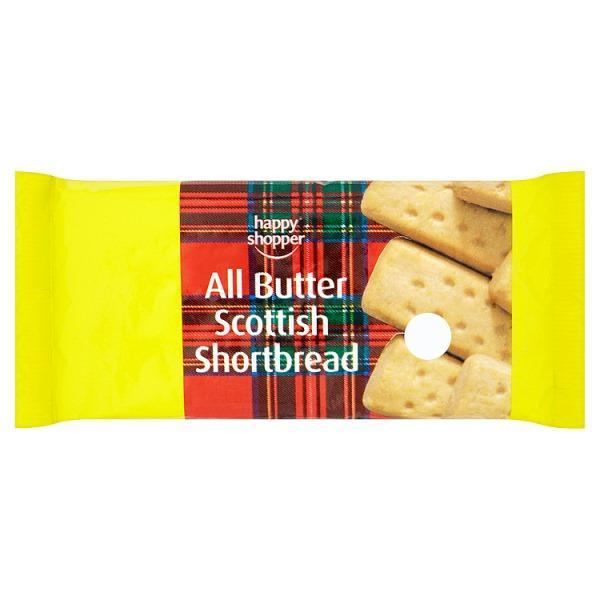 Happy Shopper All Butter Scottish Shortbread 100g OR  2 for £1