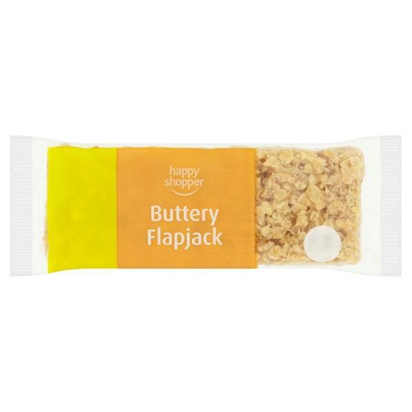 Happy Shopper Buttery Flapjack 100g OR 2 for £1.00