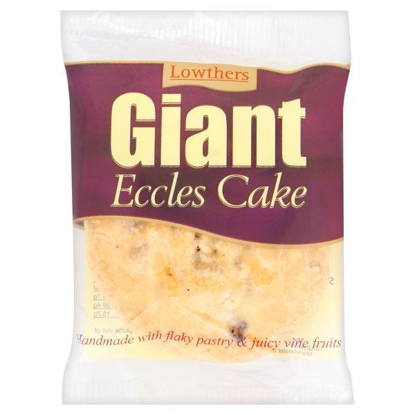 Lowthers Giant Eccles Cakes 100g-Online Groceries EUK Store
