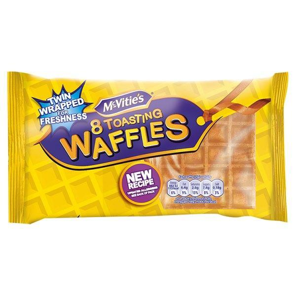 McVitie's 8 Toasting Waffles-Online Groceries EUK Store