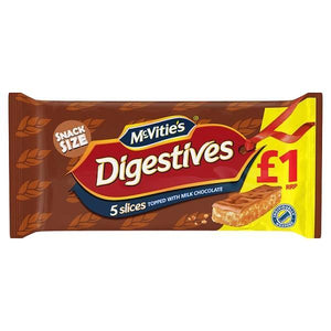 McVitie's Digestives 5 Slices Topped with Milk Chocolate-Online Groceries EUK Store