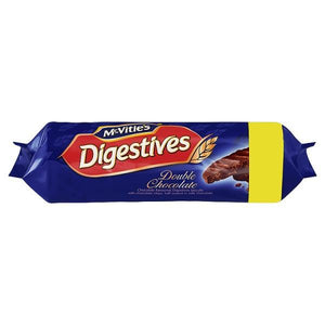 McVitie's Double Chocolate Digestives 267g-Online Groceries EUK Store
