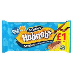 McVitie's Hobnobs 5 Flapjacks Topped with Milk Chocolate-Online Groceries EUK Store