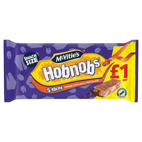 McVitie's Hobnobs 5 Slices Topped with Milk Chocolate-Online Groceries EUK Store
