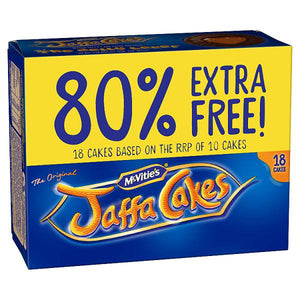 McVitie's The Original 18 Jaffa Cakes-Online Groceries EUK Store