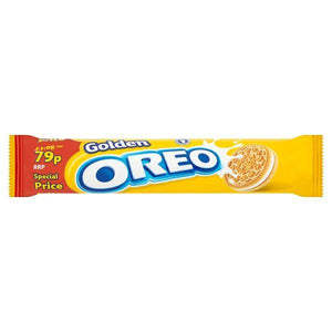 Oreo Golden Sandwich Biscuits 154g-Online Groceries EUK Store