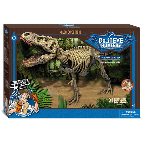 Geoworld Dr. Steve Hunters Paleo Expeditions Kit, T. Rex