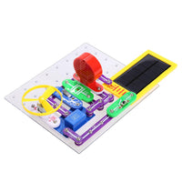 Elecmall 41Pcs Kids DIY Circuits Smart Electronic Block Kit Discovery Educational Science Toy