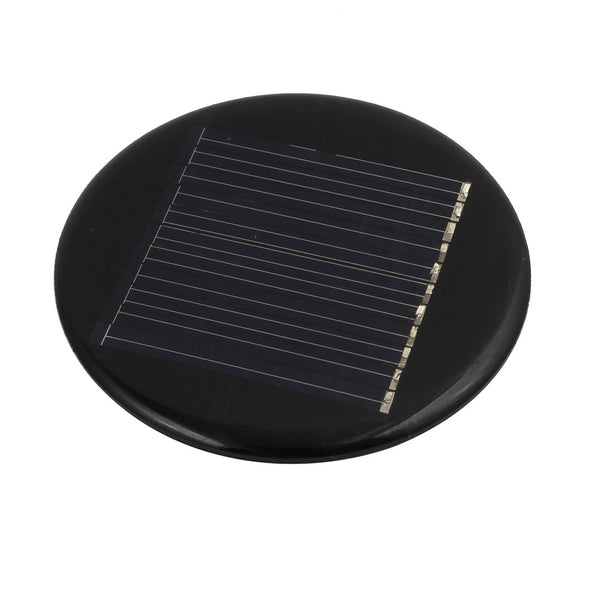64mm Diameter 5V 35mA Low-power Silicon Solar Panel Module Charging Board