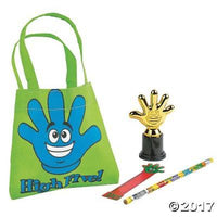 IN-13739861 High Five Student Swag Bags (16 Students)