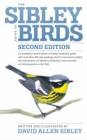SIBLEY GUIDE TO BIRDS 2ND