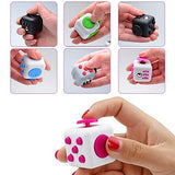 Fidget Toys Fidget Cube Magic Cube Science & Discovery Toys Stress Relievers Educational Toy Toys Square Novelty 3D Plastic Silicone