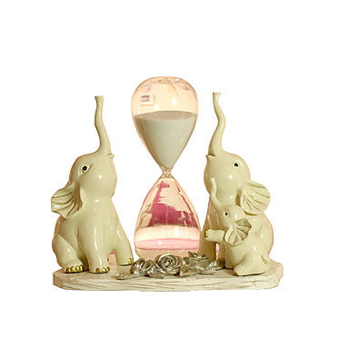Hourglass Holiday Decorations Toys Toys Elephant Glass Not Specified Pieces