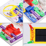 Christmas Toy Clearance! 41 pcs Kids DIY Circuits Smart Electronic Block Kit  Discovery Educational Science Toy