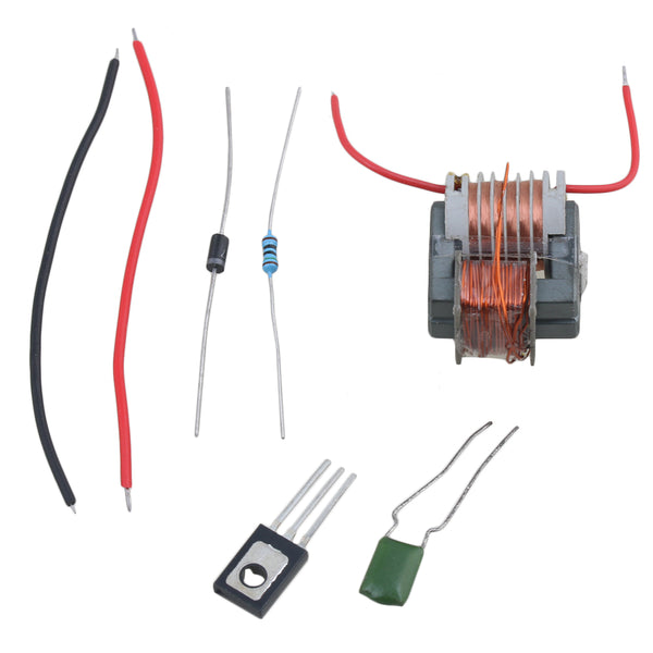 BQLZR 3.7V-4.2V 15KV High Voltage Generator Arc Cigarette Igniter Coil Boost Step-Up Module DIY Kit