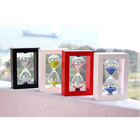 Hourglass Toys Square Crystal Wood Glass Boys' Girls' 1 Pieces