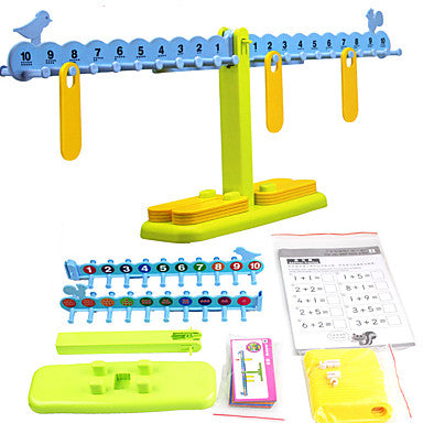 Math Toys Science & Discovery Toys Educational Toy Toys Eco-friendly Plastics Children's Kids Pieces