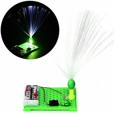 Kids Science Experiment Kits Colorful Fiber Optic Lights Educational Toy DIY