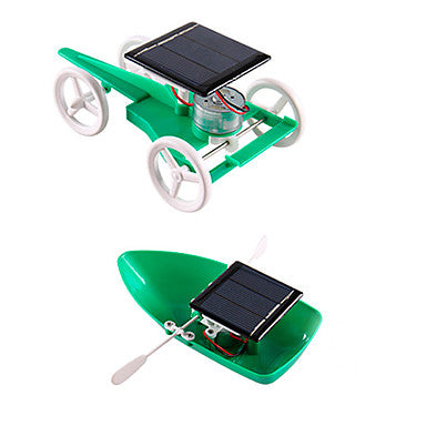 Solar Powered Toys Science & Discovery Toys Educational Toy Toys Square Solar Powered DIY ABS Unisex Teen Pieces