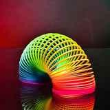 Slinky Toy Magic Tricks Coiled Spring Toys Science & Discovery Toys Stress Relievers Educational Toy Toys Eco-friendly Classic Kids 1