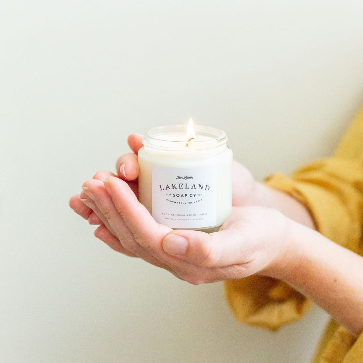 Candle - Lime, May Chang & Black Pepper