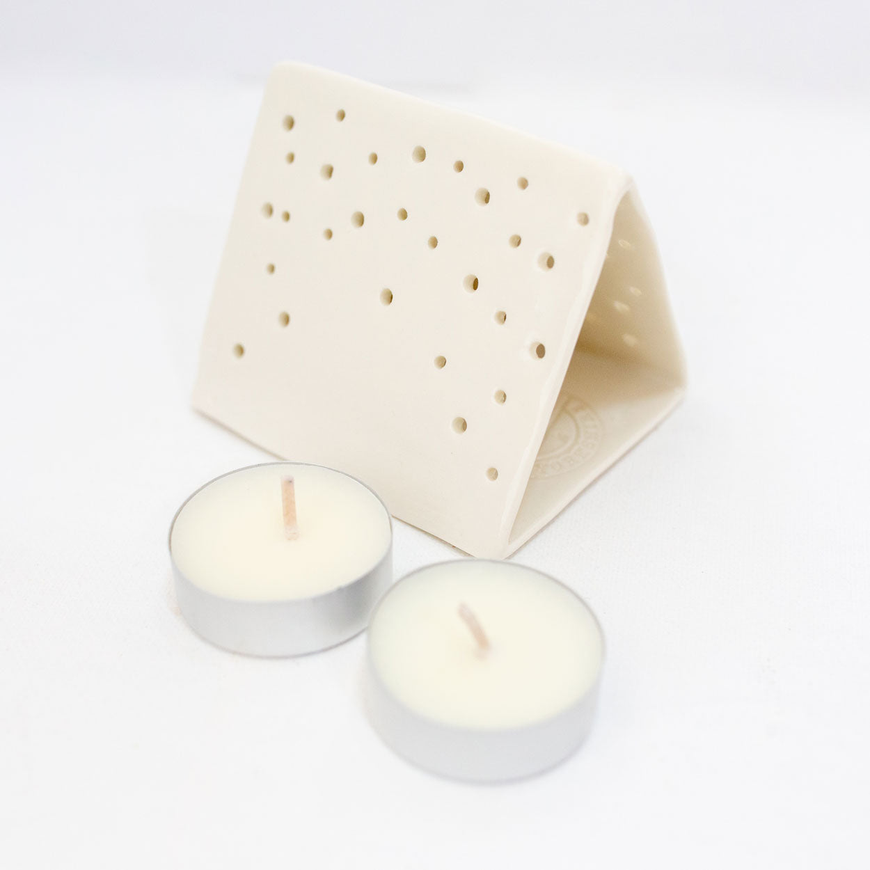 Vintage Tent Tealight Holder - Gift Box