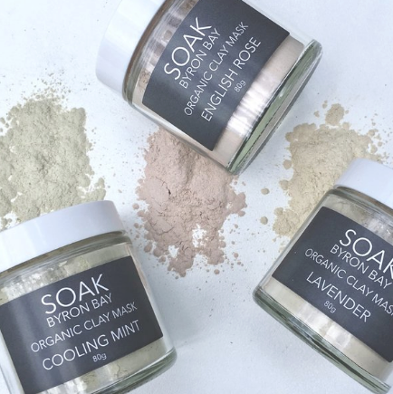 Soak Byron Bay - Lavender Clay Mask - The-WellnessCo.