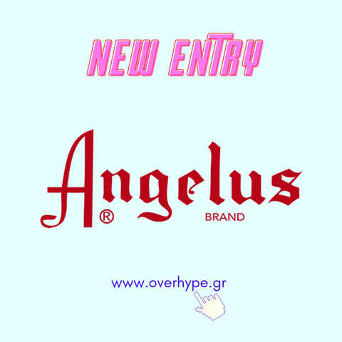 JUST ARRIVED: ANGELUS brand / For the Love of Customs