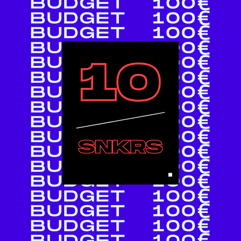 10 sneakers με budget 100€