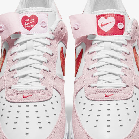 Nike Air Force 1 Valentines Day Pink