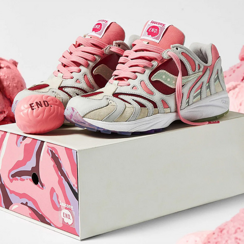 "END. x Saucony Azura 2000 ""The Brain"""