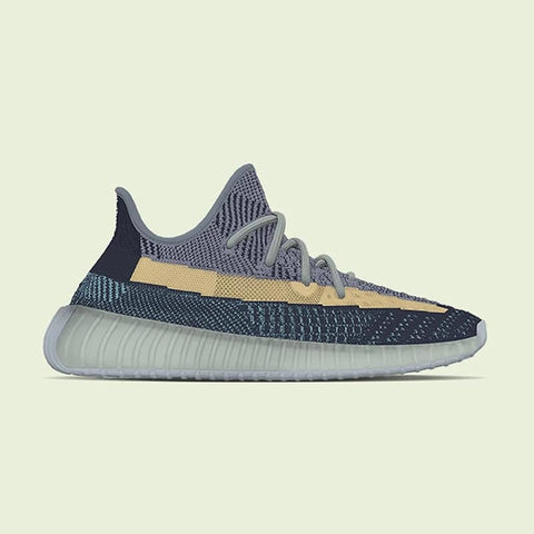"Yeezy Boost 350 v2 ""Ash Blue"""