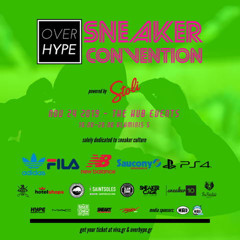 OVERHYPE Sneaker Convention