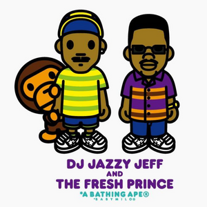 A Bathing Ape x The Fresh Prince of Bel-Air