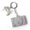 Difuzed PlayStation - Console & Controller 3D Rubber Keychain