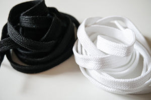 Replacement Laces flat White