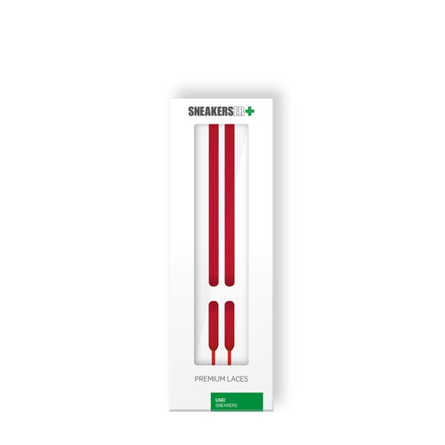 Premium Sneaker Laces 120CM X 6MM RED